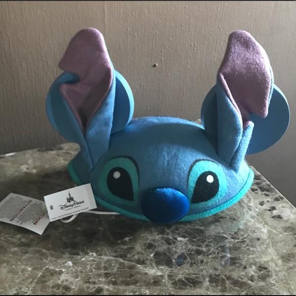 cb0a52221b8 NWT Disney Parks Stitch Ears Cap